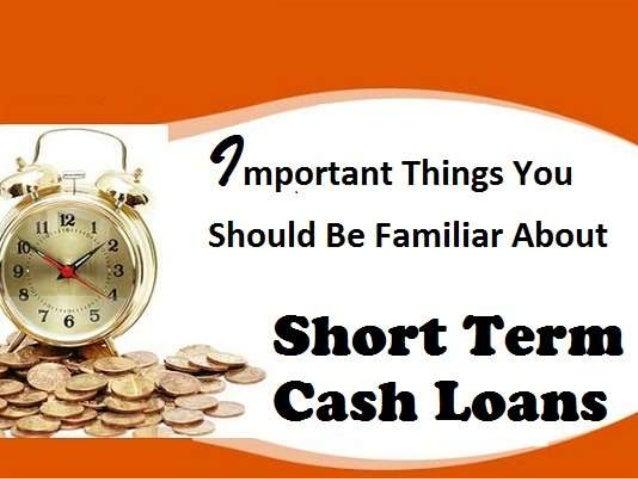 How do I get money for a short term loan?