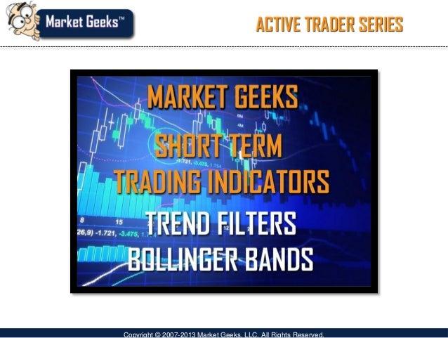Short term trading indicators using bollinger bands video