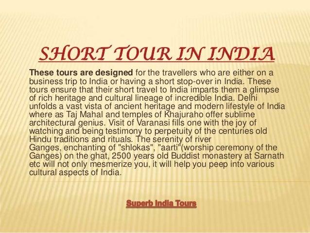 Short tour in india