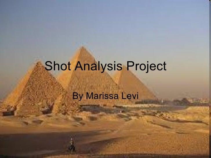 Shot Analysis Project By Marissa Levi