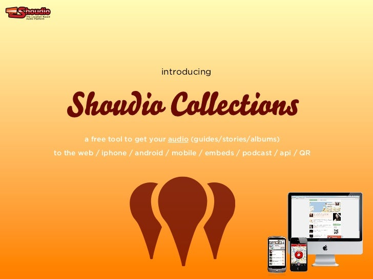 Introducing Shoudio Collections