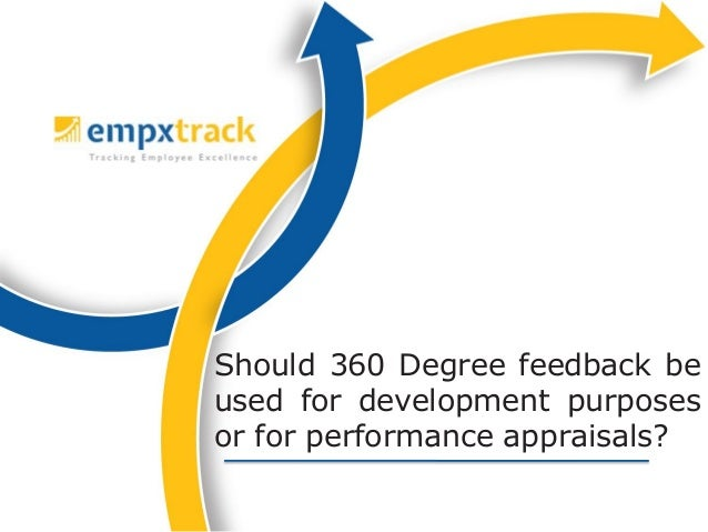 Effective use of 360 degree feedback