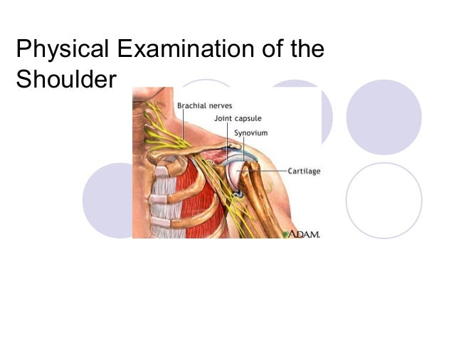 Physical Examination of theShoulder