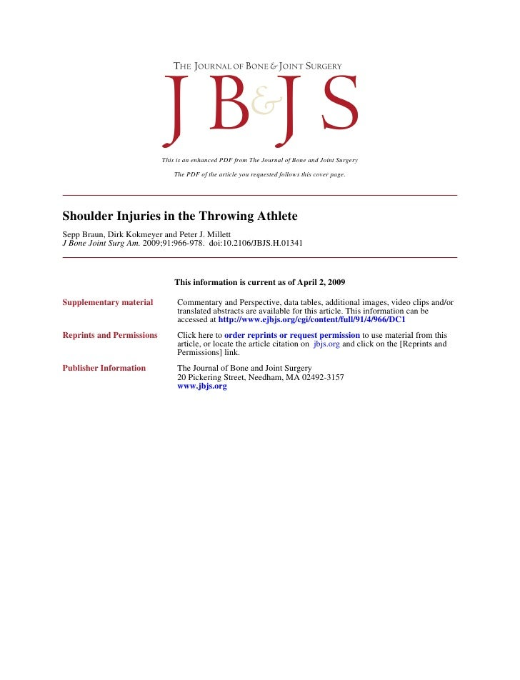This is an enhanced PDF from The Journal of Bone and Joint Surgery                                 The PDF of the article ...