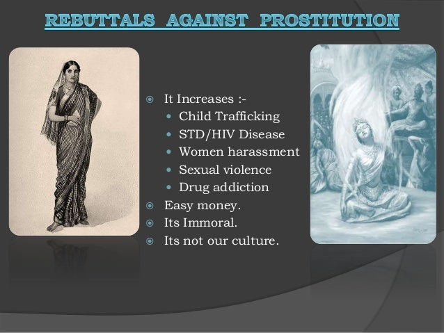 Should prostitution be legalized essay