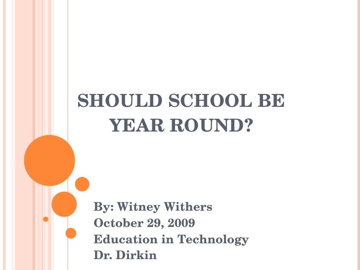 Year-Round School Pros and Cons