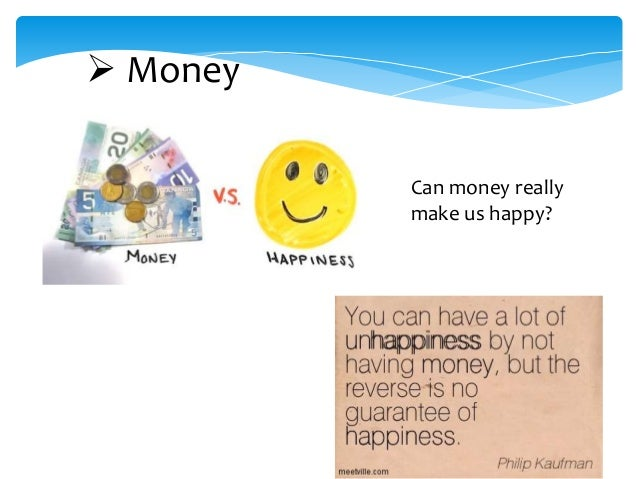 What is the secret to being happy?