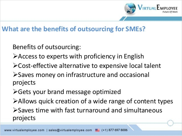 Outsourcing content writing
