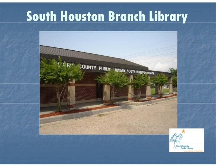 South Houston Branch Library Virtual Tour