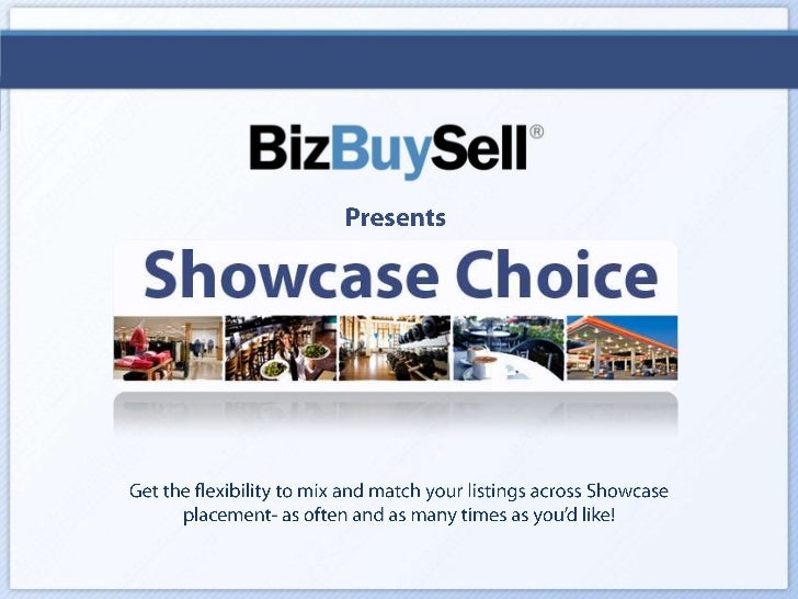 Showcase Choice for Brokers