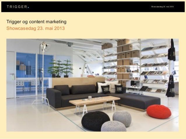 Showcasedag 2013 – Content marketing