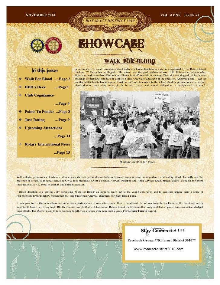 Showcase november 2010