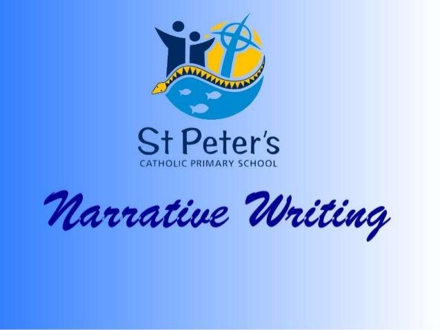 narrative essay show not tell