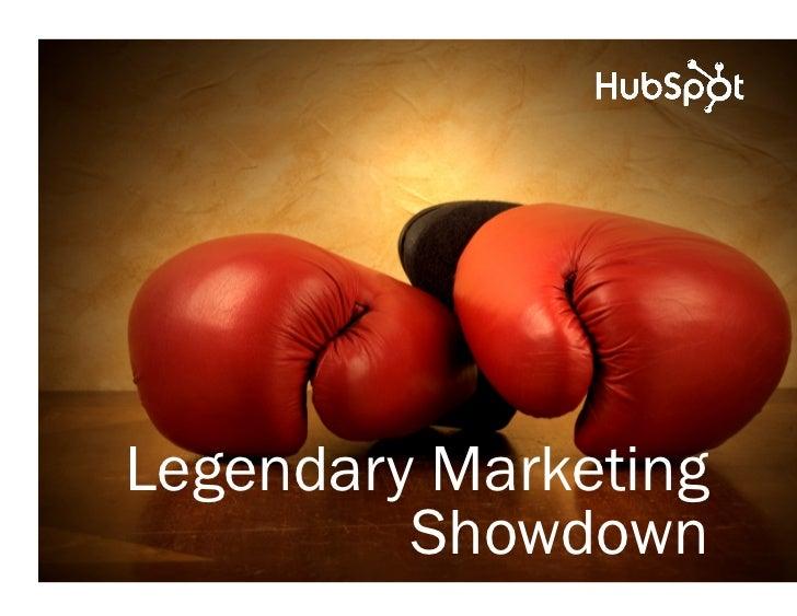 Legendary Marketing         Showdown