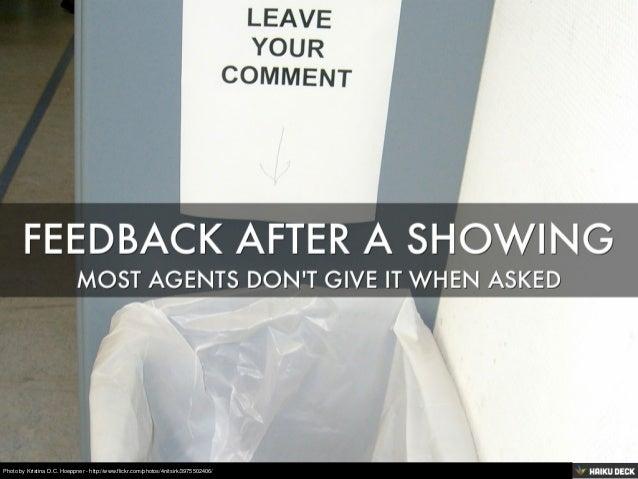 Showing Feedback