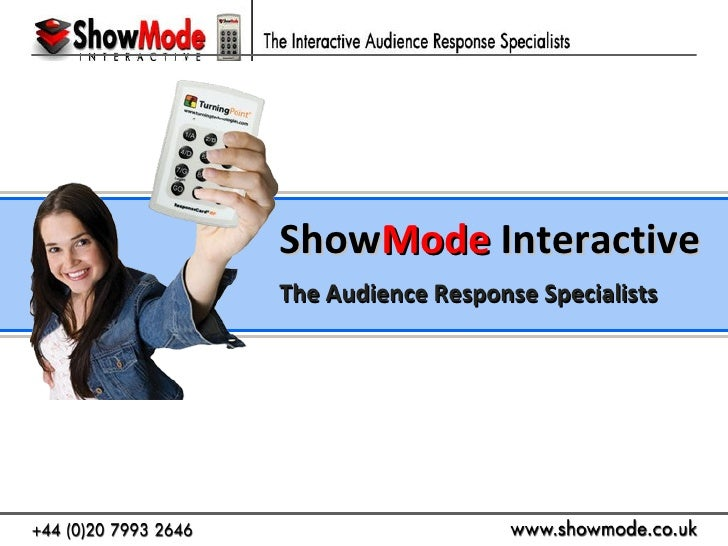 ShowMode | Audience Response System