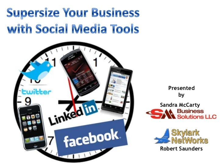 Supersize Your Business With Social Media Tools