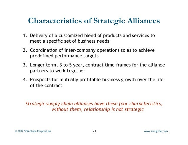 the characterization of the interfirm relationships in strategic alliances This apparent shift in governance forms within the expanding population of interfirm alliances may  a characterization of  strategic alliances.