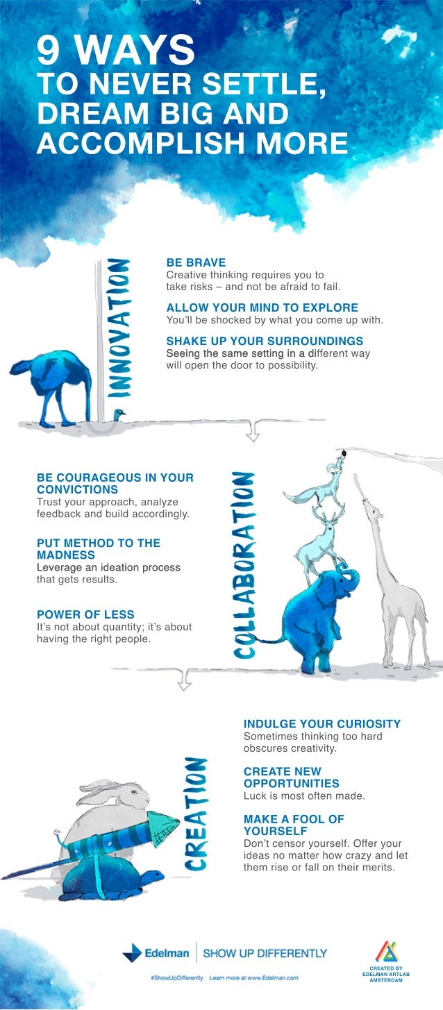 9 Ways to Show Up Differently