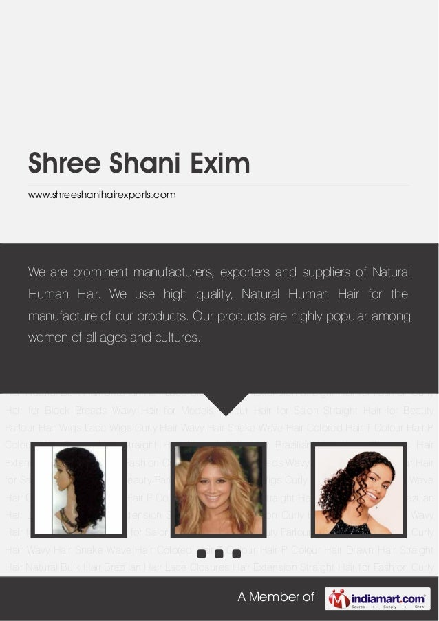 A Member ofShree Shani Eximwww.shreeshanihairexports.comHair Wigs Lace Wigs Curly Hair Wavy Hair Snake Wave Hair Colored H...