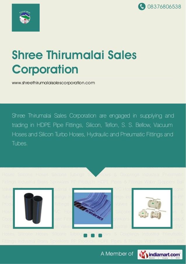 Shree thirumalai-sales-corporation