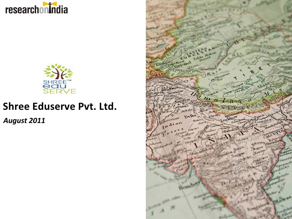 Shree Eduserve Pvt. Ltd. - Company Profile