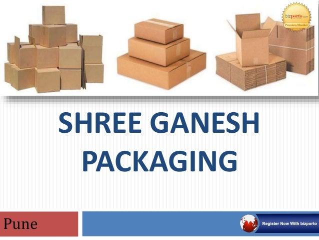 Packaging Boxes Pune - Shree Ganesh Packaging