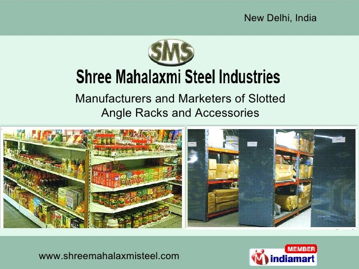 Manufacturers and Marketers of Slotted Angle Racks and Accessories