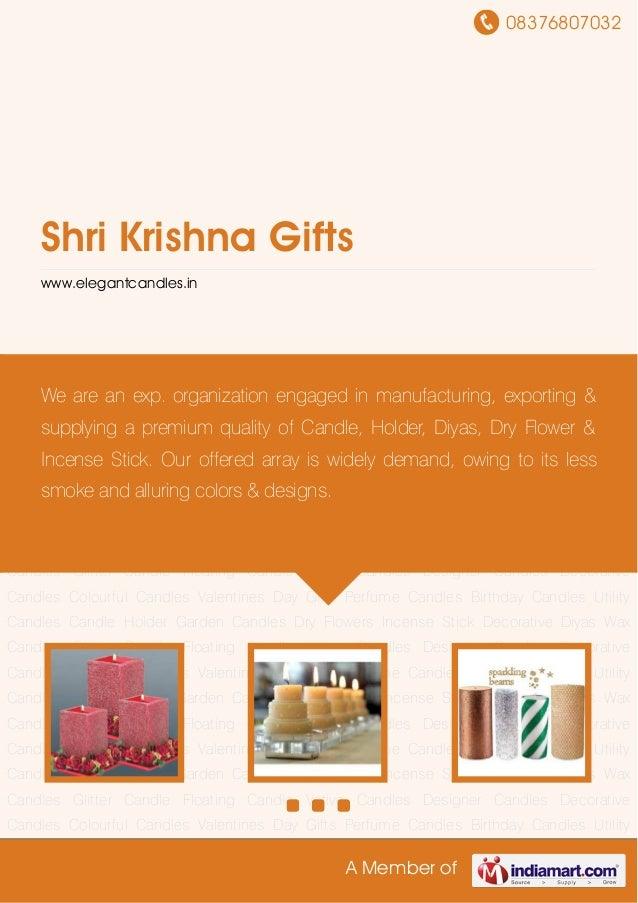 08376807032A Member ofShri Krishna Giftswww.elegantcandles.inDesigner Candles Decorative Candles Colourful Candles Valenti...