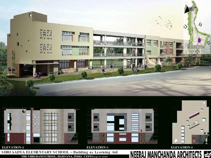 Shri Aadya Elementary School - Building As Learning Aid