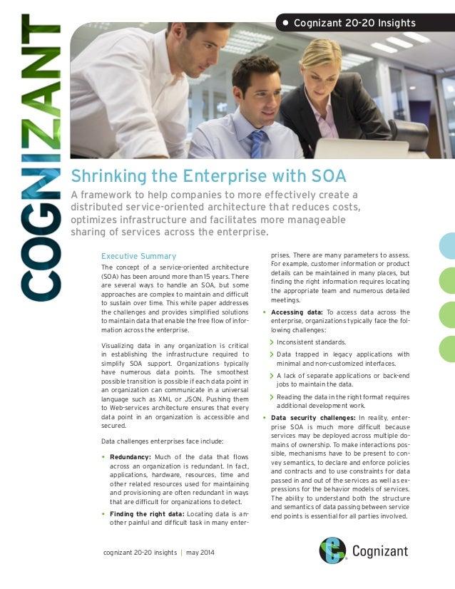 Shrinking the Enterprise with SOA