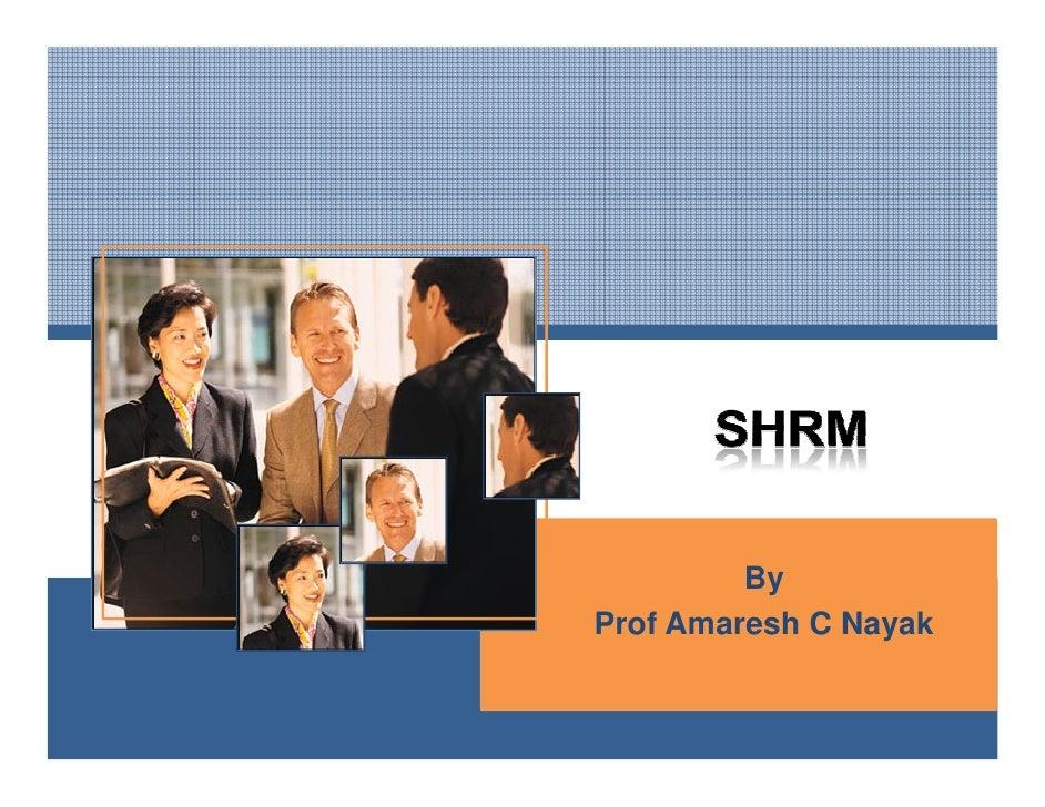 Shrm  -introduction