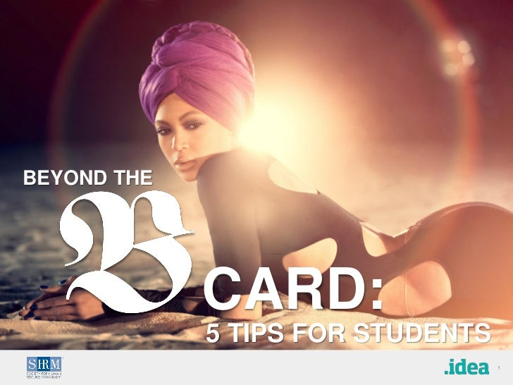 Beyond the Business Card: 5 Tips for Students