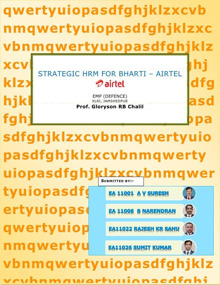 hr practices in bharti airtel