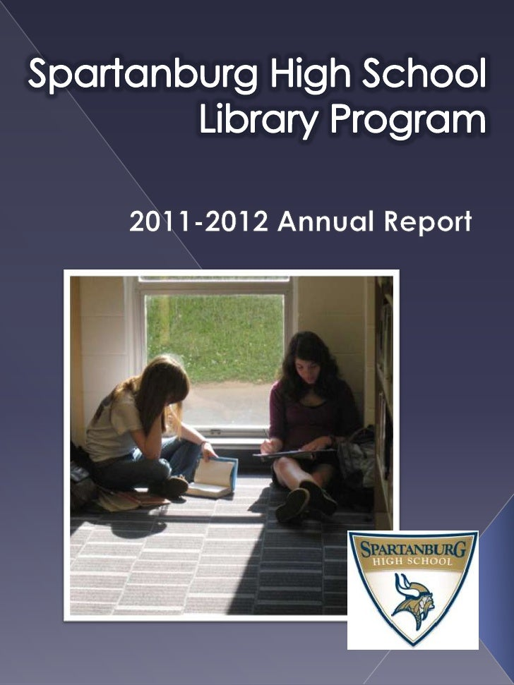 SHS Library Annual Report 2011-2012