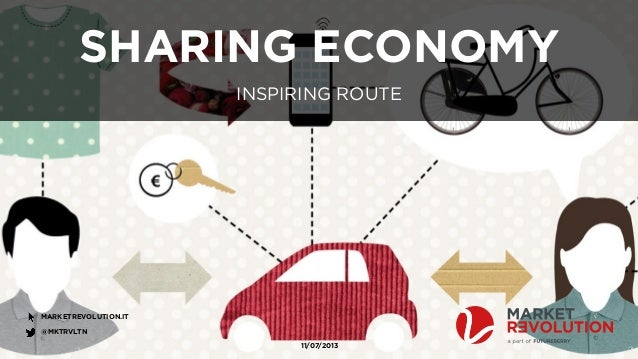 Inspiring Route - Sharing Economy & Collaborative Consumption