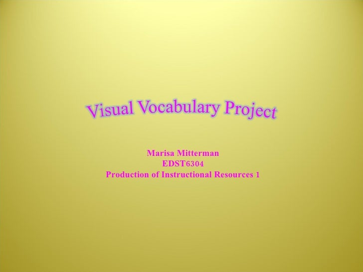 powerpoint vocab Teaching vocabulary effectively presenters: a homemade powerpoint game by ketherine urrutia and annette ramos [this is a good place to put a graphic] 36.