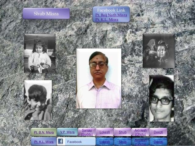Facebook LinkShub Misra                              Pt. Baij Nath Misra                                        Pt. K.L. M...