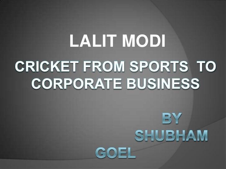 Lalit Modi