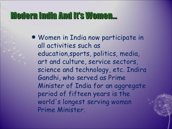 condition of women in india essay The status of women in india has been subject to many great changes over the past few millennia with a decline in their status from the ancient to medieval times, to.