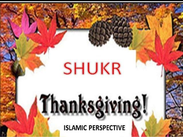 Shukr thanksgiving,