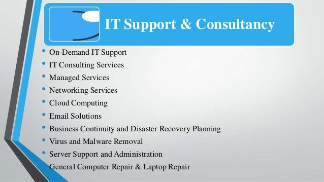 It support business plan