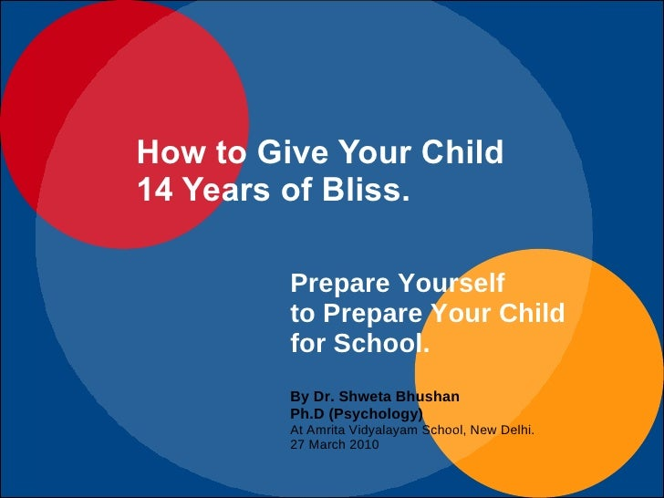 How to Give Your Child 14 Years of Bliss in Schooling.