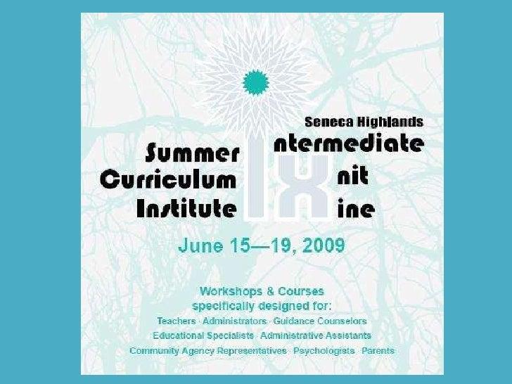 IU9 Summer Institue 2009