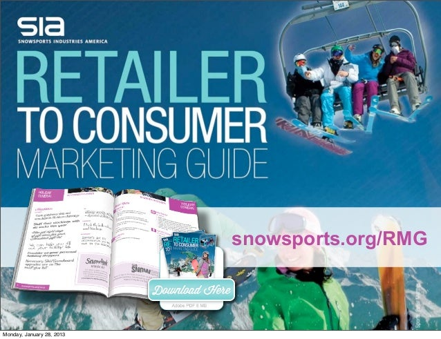 2012-2013 Retail To Consumer Marketing Guide