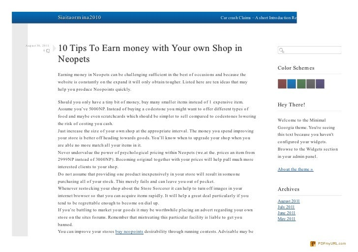 Siaitaormina2010.com 10-tips-to-earn-money-with-your-own-shop-in-neopets