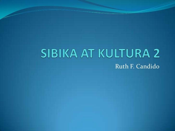 Ruth F. Candido