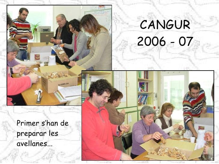 CANGUR 2006 - 07 Primer s'han de  preparar les avellanes...