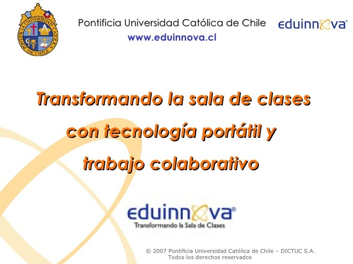 Centro de Tecnología Educativa de Tacuarembó. Presentación Eduinnova Chile.Sibils Ximena