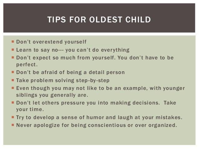 Oldest child or Eldest child?